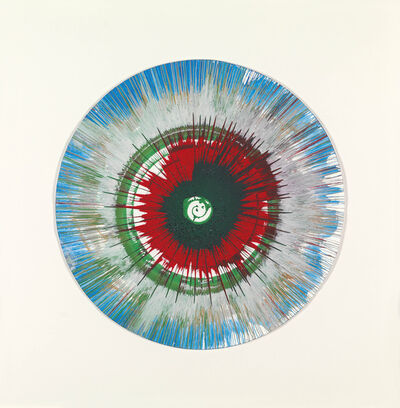 Damien Hirst, 'Spin (Red, green and blue)'