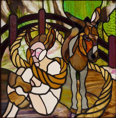 Jenny Toth, 'Donkey Girl', 2012