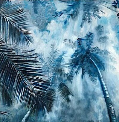 Valeria Troubina, 'Foggy Palms', 2014