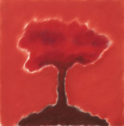 David Nash, 'Red Tree', 2020