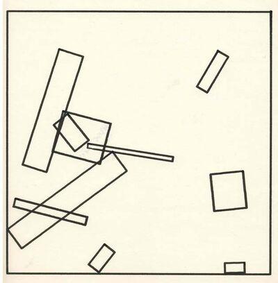 Frieder Nake, '16.3.65 Nr. 14', 1965