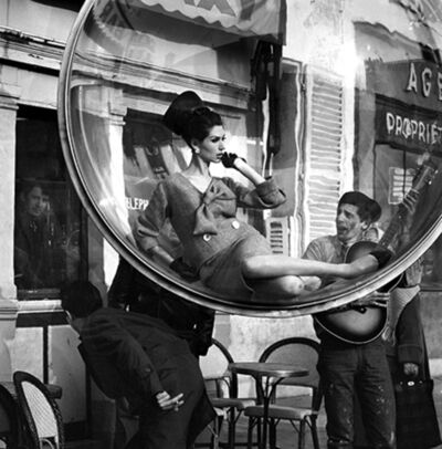 Melvin Sokolsky, 'Bubble Guitar Serenade, Paris', 1963