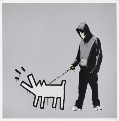 Banksy, 'Choose Your Weapon (Silver)', 2010