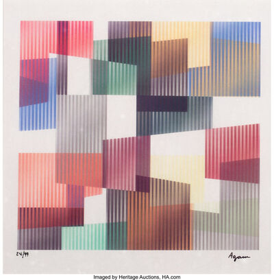 Yaacov Agam, 'Untitled IV, from Time from the Mobility Within Series', c. 2000
