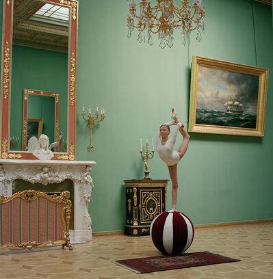 Valery Katsuba, 'Gymnast at the Yuspov Palace (II)', 2014