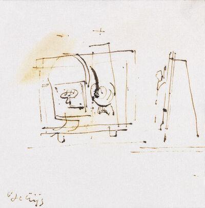 Joseph Beuys, 'Så FG-Så UG', 1958