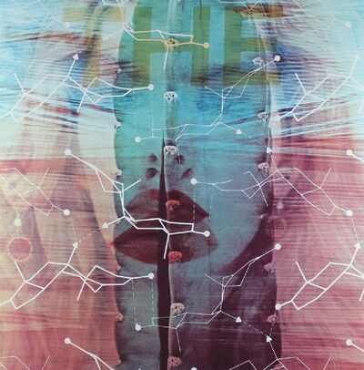 "James Rosenquist, '""the"" from ""Technology & Mysticism""', 1981"