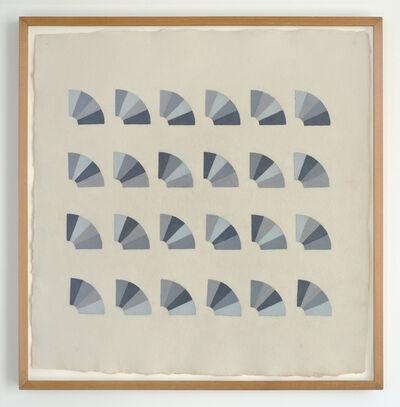 Elaine Reichek, 'Fan Factorial Drawing 1', 1977