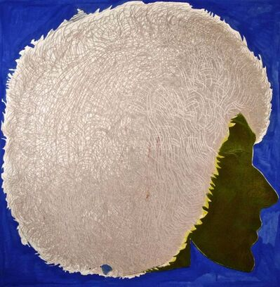 Giacomo Porzano, 'Profile in Blue', 1972