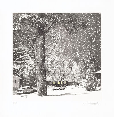 Ikeda Manabu, 'Snowy Night', 2020