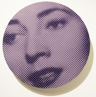 Chris Cran, 'Large Mauve / Purple Woman (Chorus Series 13.5)', 2013