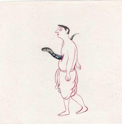 Buddhadev Mukherjee, 'Man 27', 2013