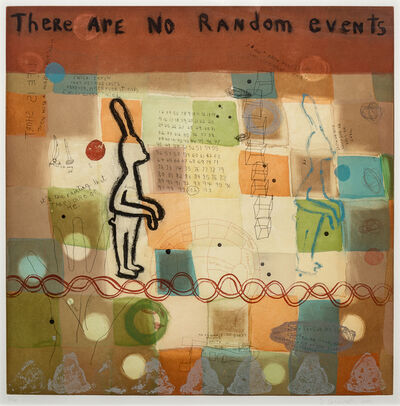 Squeak Carnwath, 'Random Events', 2002