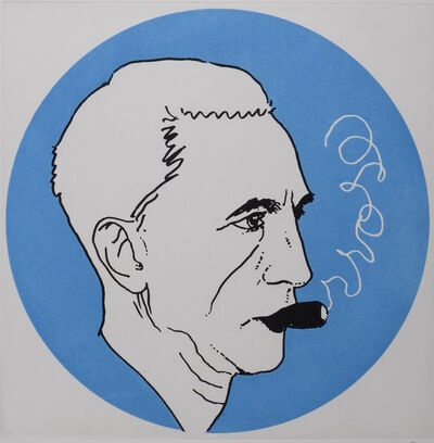 Man Ray, 'Portrait of Marcel Duchamp', 1972