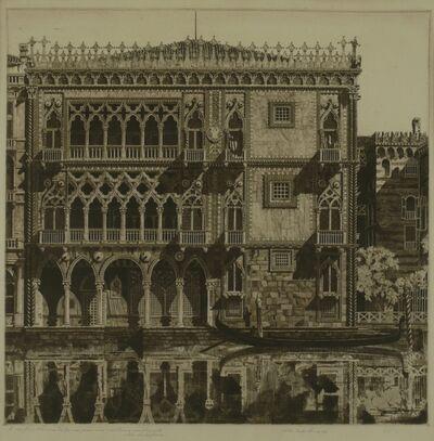 John Taylor Arms, 'Venetian Filigree, Ca D'Oo, Venice', 1931