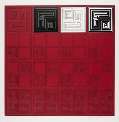 Gordon House, 'Red Matrices', 1967-1968