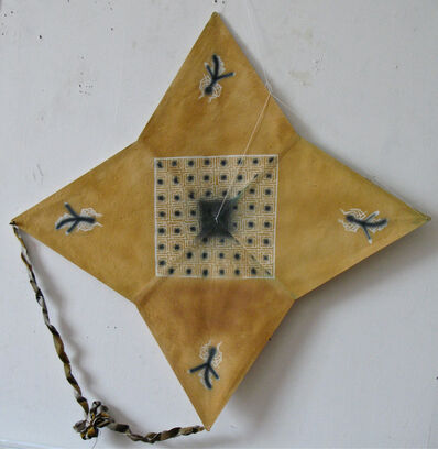 Francisco Toledo, 'Four star kite with grid and spiders', 2010