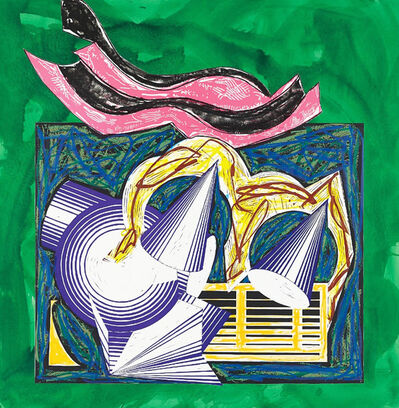 Frank Stella, 'One Small Goat Papa Bought for Two Zuzim', 1982