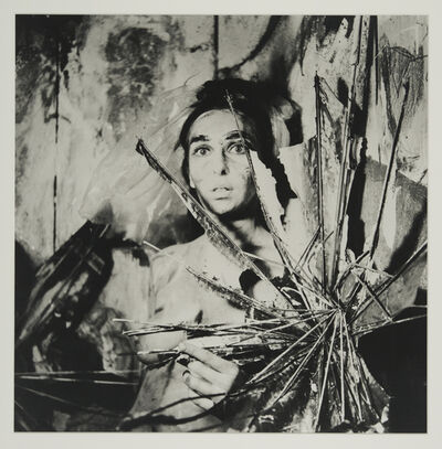 Carolee Schneemann, 'Eye Body 24', 1963