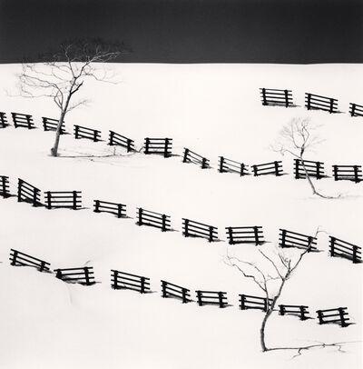 Michael Kenna, 'Thirty One Snow Fences, Bihoro, Hokkaido, Japan', 2016