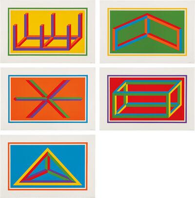 Sol LeWitt, 'Isometric Figures (K. 2002.01)', 2002