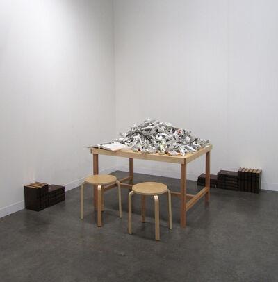 Simryn Gill, 'Paper Boats', 2009