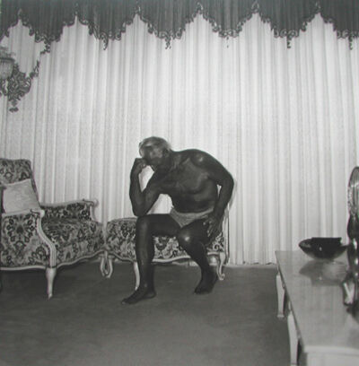 Diane Arbus, 'Charles Atlas seated in his Palm Beach House', 1969