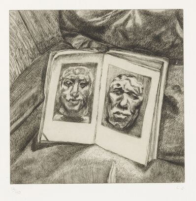 Lucian Freud, 'The Egyptian Book (H. 49)', 1994