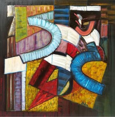 Bruno Saba, 'pittura 13', 2016