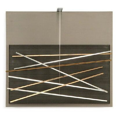 Jesús Rafael Soto, 'Vibrations Métalliques ', 1969