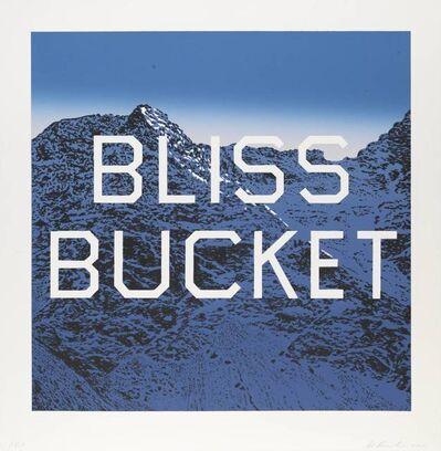 Ed Ruscha, 'Bliss Bucket ', 2010