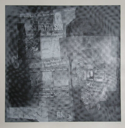 Robert Rauschenberg, 'Surface Series from Currents, #37', 1970