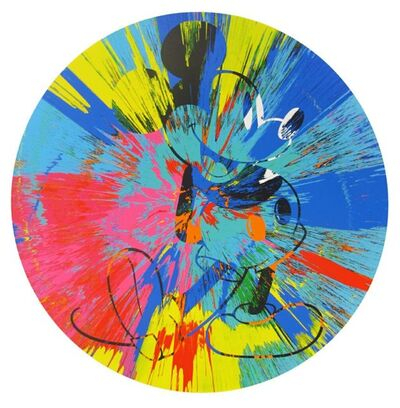 Damien Hirst, 'Beautiful Mickey (Spin)', 2015