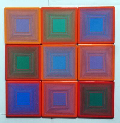 Richard Anuszkiewicz, 'The Art in America Coasters', 1971
