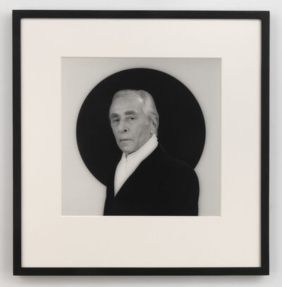 Robert Mapplethorpe, 'Leo Castelli', 1984