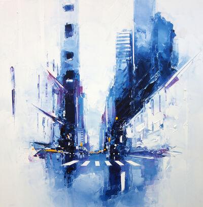 Daniel Castan, 'Blue Times Square', 2017-2018