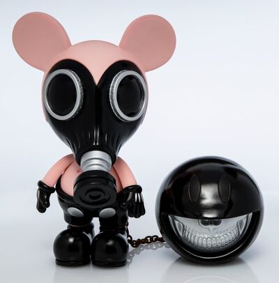 Ron English, 'Mouse Mask Murphy Normal Clean (Silver Edition)'