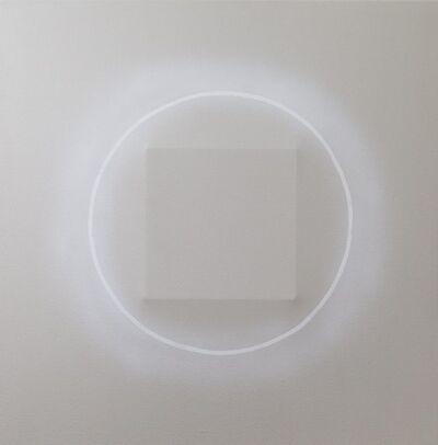 Len Klikunas, 'Corona Gray White', 2019