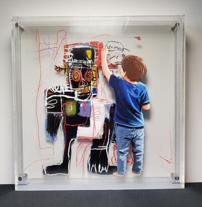 Yosman Botero, 'Common things 187 (BASQUIAT)', 2019