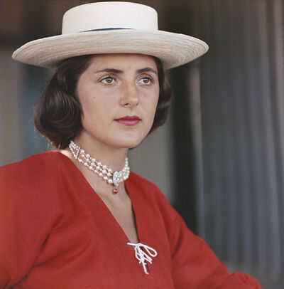 Slim Aarons, 'Ursula Pacelli', 1957
