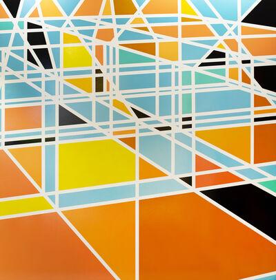 Sarah Morris, 'Pools - Days Inn (Miami)', 2003