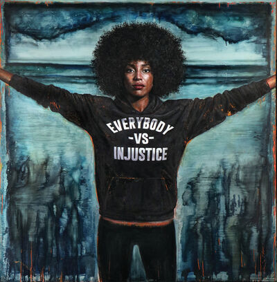 Tim Okamura, 'Everybody vs Injustice', 2020