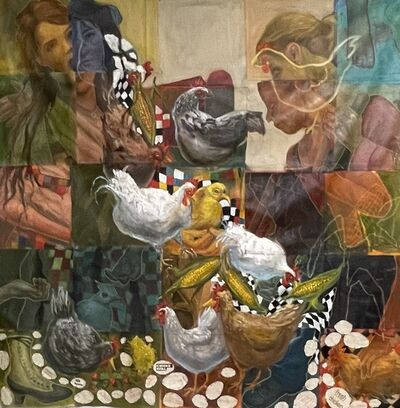 Carrie Pearce, 'Chicken Piece', 2021