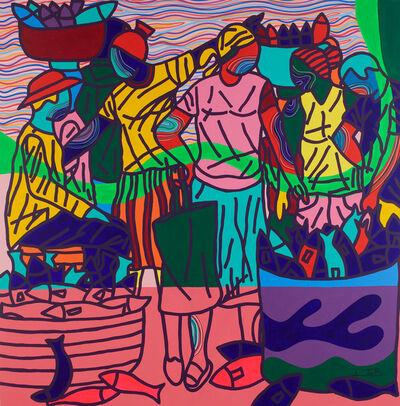 Ajarb Bernard Ategwa, 'Down Beach', 2018