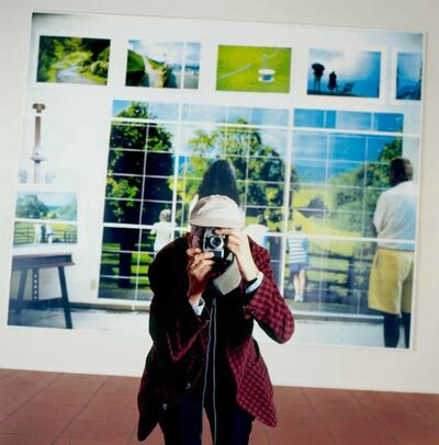 Larry Kagan, 'David Hockney at Cologne Photography Exhibition', 1997