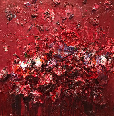 Ismael Lagares, 'Red I', 2018