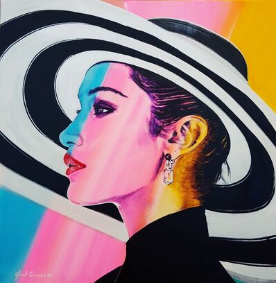 Jack Graves III, 'Bella Hadid Icon', 2020