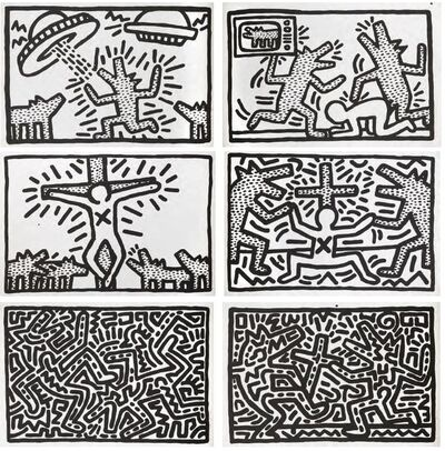 Keith Haring, 'Untitled (1982 Print Suite)', 1982