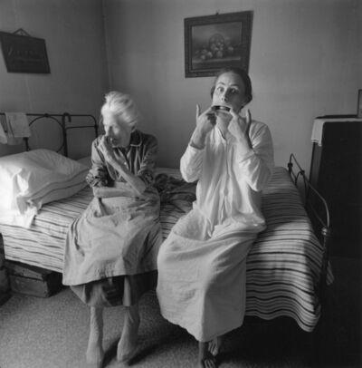 Emmet Gowin, 'Edith and Rennie Booher, Danville, Virginia', 1971