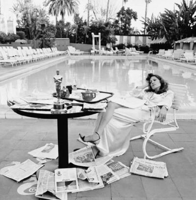 Terry O'Neill, 'Faye Dunaway at the Beverly Hills Hotel', 1977